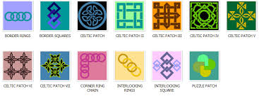 Preview the Online Quilt Block Pattern Library at Blockcrazy.com & Celtic Applique Quilt Block Patterns Adamdwight.com