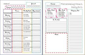 printable task lists working s daily do s printable task list