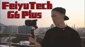 <b>FeiyuTech G6 Plus 3-Axis</b> Stabilized Handheld Gimbal - YouTube