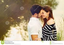 Happy Romantic Sensual Couple In Love Together On Summer Vacation