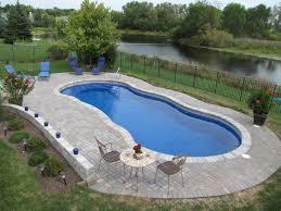 Inground pools Luxury Inground Pinterest Inground Pools Antioch Vinyl Liner Gurnee Fiberglass Lake Villa
