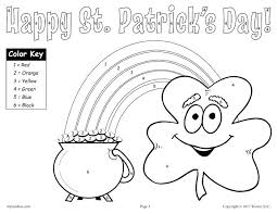 Small Picture Free Printable St Patrick Day Coloring Pages Corresponsablesco