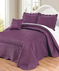 purple bedspreads king bedding sets a bedroom decor of nature and royalty