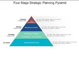 Ppt Pyramid Four Stage Strategic Planning Pyramid Ppt Powerpoint