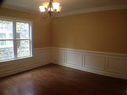Dining Room with chair rail, shadow boxing, and crown moulding ...
