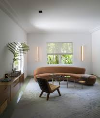 art deco furniture miami. Living Room With Vladimir Kagan Sofa In Miami Art Deco Villa Remodel By Stephan Weishaupt, Furniture