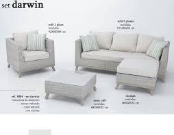 darwin sofa set