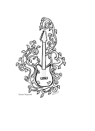 Small Picture Rachel Maybeth Guitar and Piano Clip Art Free Coloring Pages