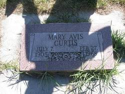 Mary Avis Burke Curtis (1905-1968) - Find A Grave Memorial