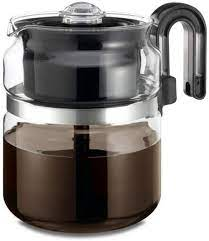 Glass coffee percolators look classic and elegant in your home. Amazon Com Cafe Brew Collection High End Glass Stovetop Percolator Coffee Pot Best 40 Oz Borosilicate Glass Percolator Coffee Pot Dishwasher Safe Coffee Percolator Bpa Free 8 Cup Percolator By