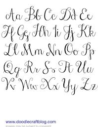 Cursive Writing Fonts Sada Margarethaydon Com