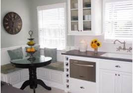 Small Eat In Kitchen Ideas » Inviting Comfortable And Practical Family Kitchen  Designs Eat In Nook
