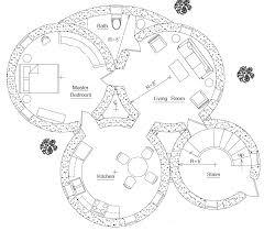Excellent Floor Plans Hobbit House 10 Roundhouse Plan