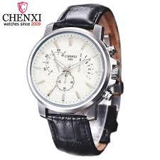 online get cheap nice watch brands for men aliexpress com chenxi brand design men watches quartz luxury clock leather man watches casual sports life waterproof nice