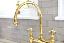 Luxury Unlacquered Brass Kitchen Faucet Design for Kitchen — Home