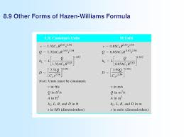 Hazen Williams Formula Pipe Flow Chart Describe The Appearance Of Laminar Flow And Turbulent Flow