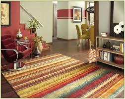 multi color area rugs multi colored striped area rugs