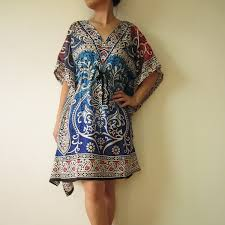 Kaftan Beach Cover Up Maternity Top Tunic Beach Dress Pool