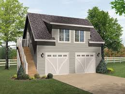 Garage Plans Craftsman Style One Car Two Story Garage With Two Story Garage Apartment