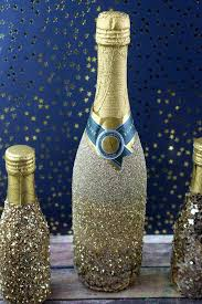 How To Decorate A Champagne Bottle