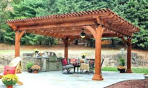 wooden structure over patio shade structures backyard wood outdoor ideas
