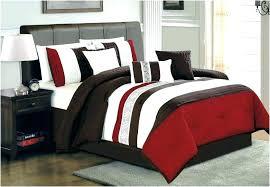 dark red bedding white and blue black grey comforter set sets uk co