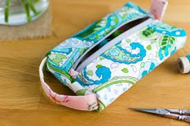 the pillbox pouch free sewing pattern