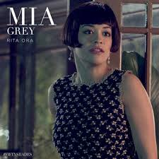 Rita Star Pattern Inspiration Rita Ora Stars In New Fifty Shades Of Grey Poster MTV Asia
