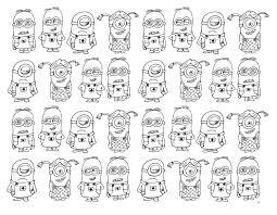 Minions 116 Films D Animation Coloriages Imprimer