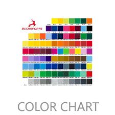 Dye Sublimation Color Chart Dye Sublimation Colour Chart And Cut Sew Color Chart Bucksports