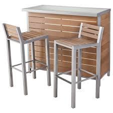 target patio bar set. Brilliant Patio Threshold Bryant Faux Wood Patio Bar Furniture Set  Target With P