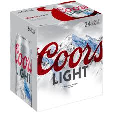 24 Pack Of Natty Light Coors Light Beer American Light Lager 24 Pack Beer 12 Fl