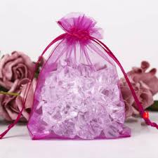 new extra large pink red organza jewellery pouches party gift bags 30x40 cm pink nubexr6382 gift bags