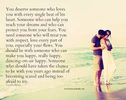 Lessons Learned in LifeYou deserve to be happy. - Lessons Learned in Life