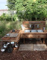 Preschool Kitchen Furniture Mud Kitchen At Fazeley Pre School Play To Learn Pinterest