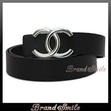 chanel belt. chanel belt a73462 chanel cc buckle reversible leather black / blue 85 new brand c