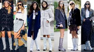 chanel glitter boots. ooooh. photos: mooez ali (2), imaxtree (5) chanel glitter boots .