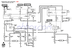 4th gen lt1 f body tech aids headlight foglight schematic 1995 camaro