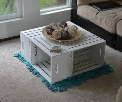 dog crate table coffee table diy build plans dog crate end table