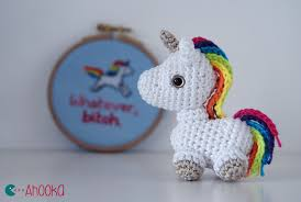 Free Patterns For Crochet Best Tiny Unicorn Crochet Amigurumi Free Pattern By Ahookamigurumi On