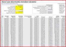 Interest Only Loan Calculation Amortization Schedule Template In Excel Interest Only Loan