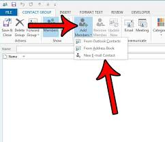 Create Outlook How To Create A Distribution List In Outlook 2013 Solve