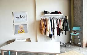 clothes rack shelf bookshelf