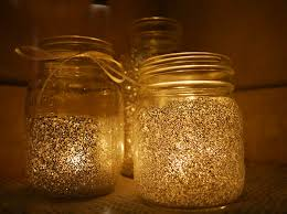 Decorating Candle Jars Mason Jar Candle Holders Diy Design Decoration 16