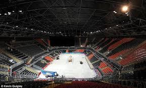 Michigan State Basketball Arena Seating Chart For Sale One Olympic Basketball Arena 12 000 Seats Hardly