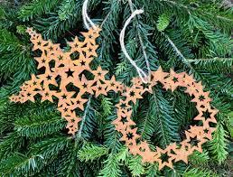 Stern Sternenkranz Anhänger Christbaumschmuck