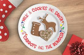 Cookie plate bundle svg, digital art file for all your crafting needs. Freebie Friday Santa Cookie Plate Svg Cut File Kelly Lollar Designs