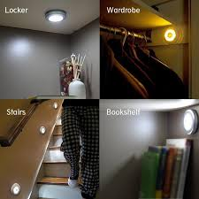 Motion Sensor Stair Lights 3pcs Battery Operated Ir Motion Sensor Led Night Light Wireless