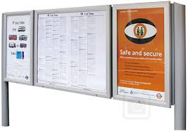 bulletin board lockable aluminum display for outdoors an enclosed magnetic board and whiteboard