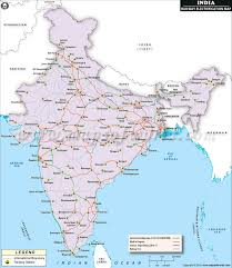 indian railway electrification map